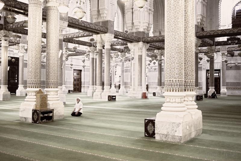 Une mosquée en paix