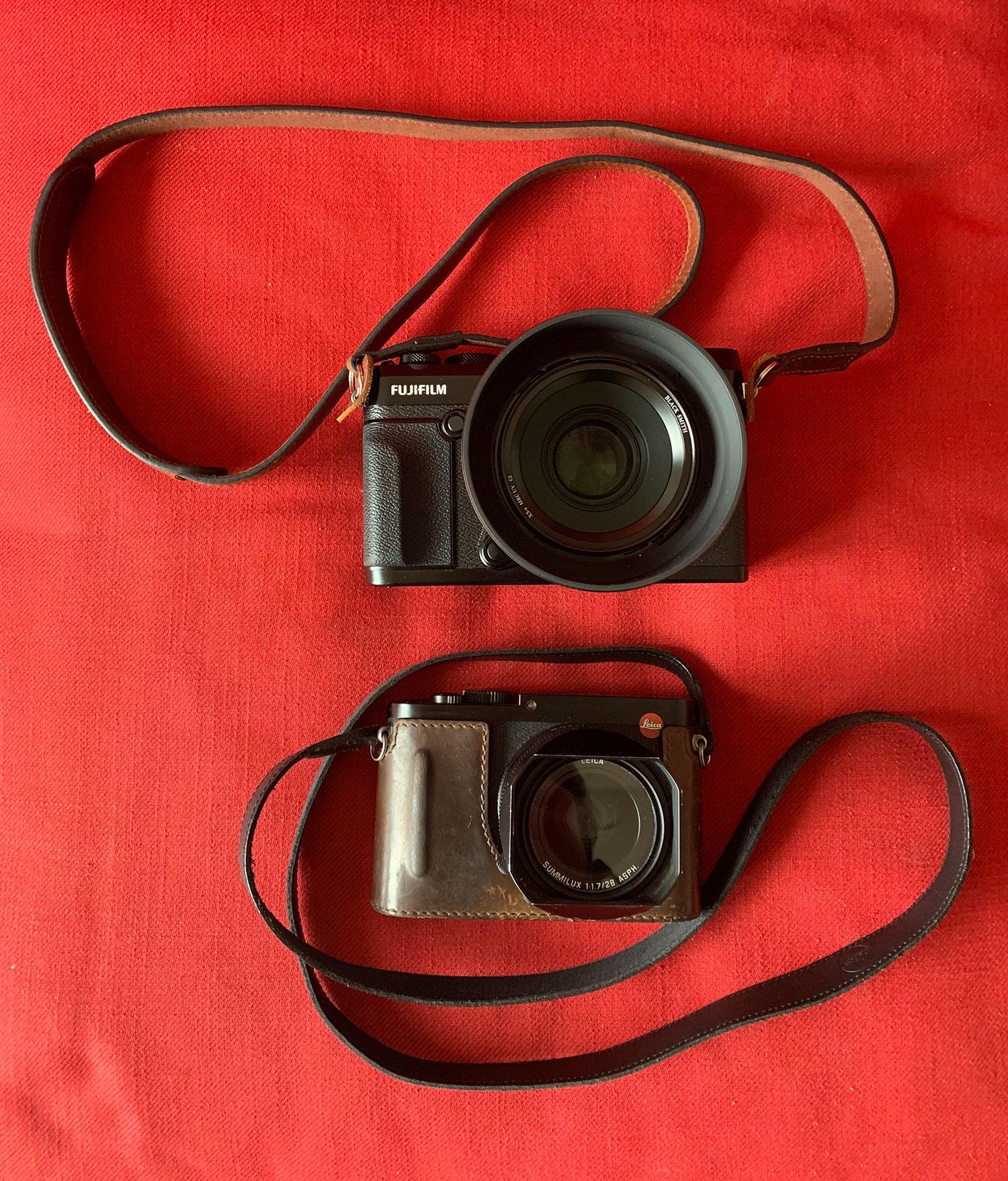 Le moyen format GFX 50R, un compagnon exceptionnel pour mon Leica Q