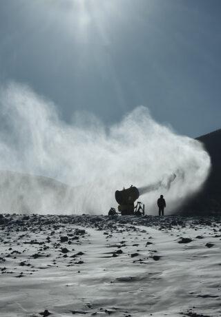 Chongli, une station de ski en Chine